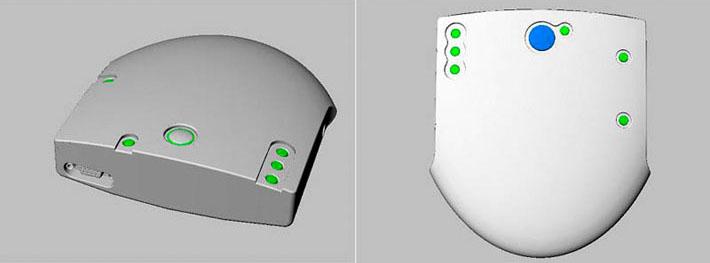 Modelado 3D del diseño del equipo Xibelis realizado por Imbris