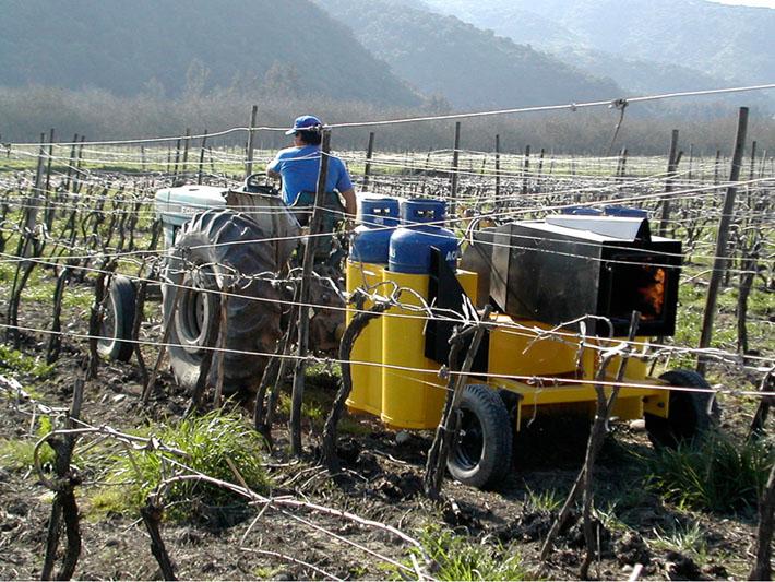 Diseño máquina agrícola TPC realizado por Imbris