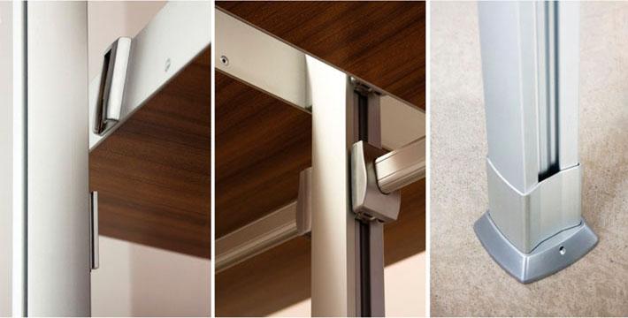 Detalle del diseño mobiliario Zyta realizado por Imbris