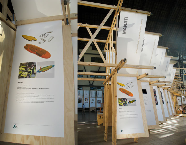Submarino CETMAR realizado por Imbris en 5ª Bienal de Diseño