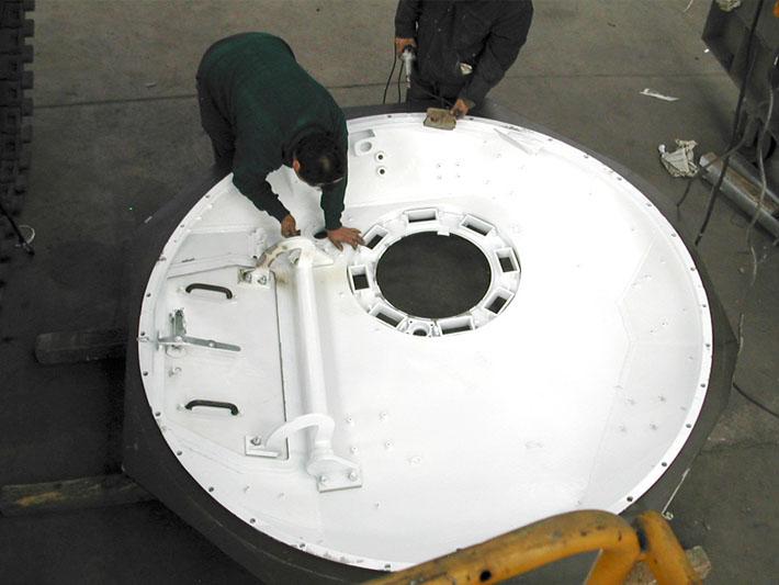 Diseño habitáculo de vehículo militar realizado por Imbris
