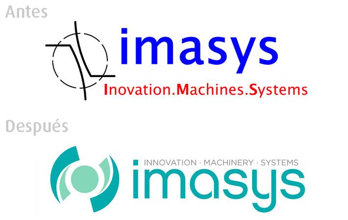 Diseño de Identidad Imasys realizado por Imbris