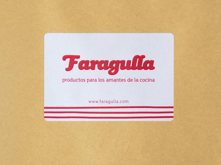 Etiqueta Faragulla, productos para los amantes de la comida